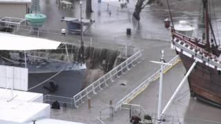 Brisbane Floods 2011. Maritime Museum Dry Dock Flooding.  12 Jan 2011.