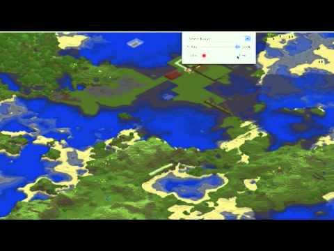 minecraft map viewer + download link (UPDATED) by sntkilla1