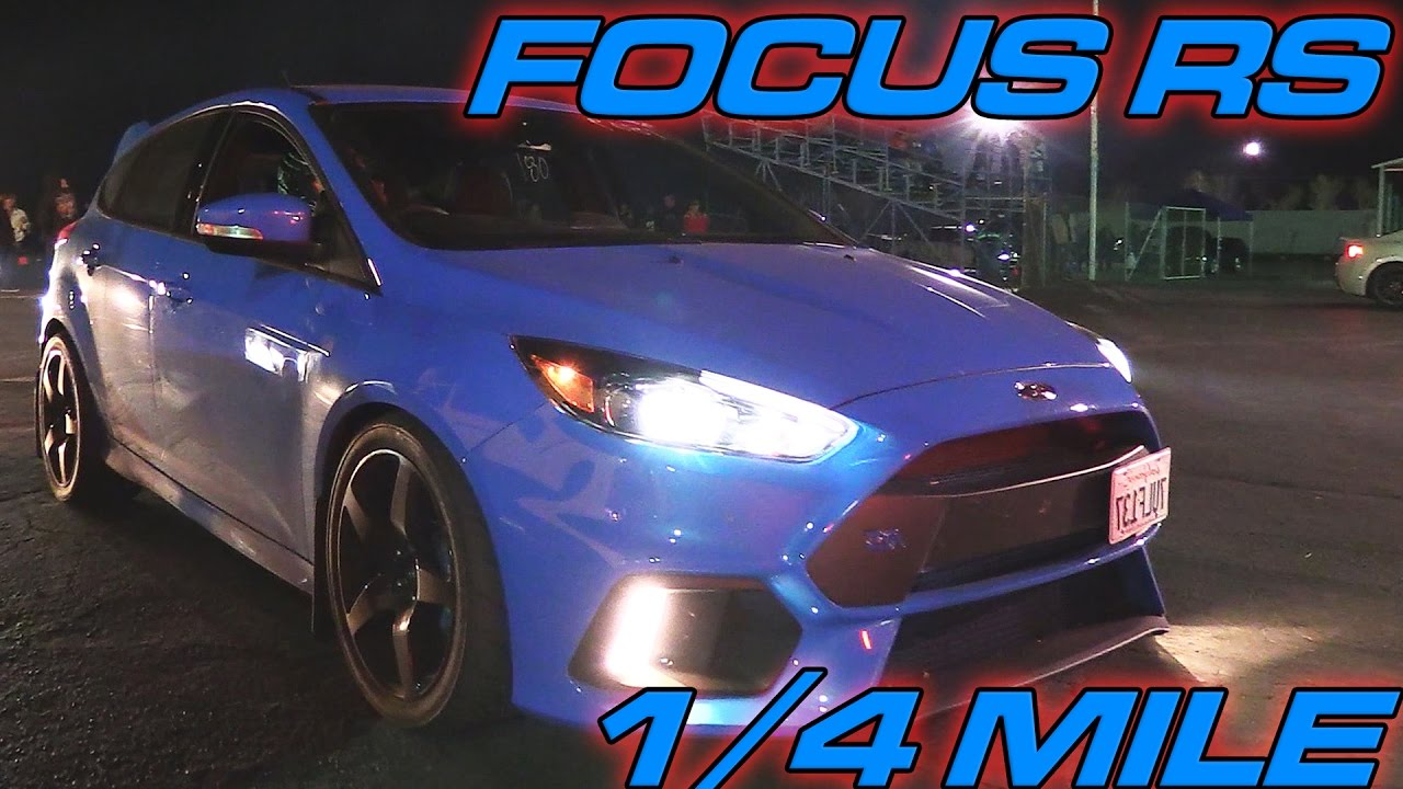 Bolt On Focus Rs 1 4 Mile Pass Youtube