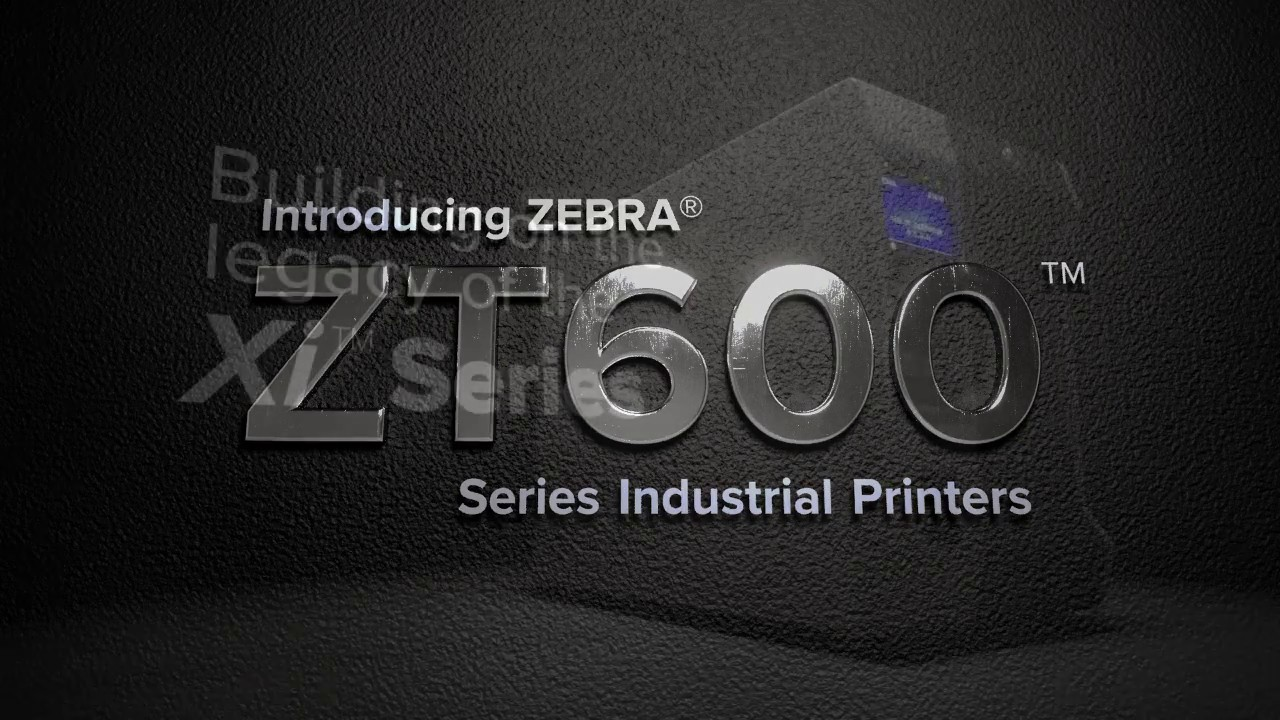 Zebra Industrial Label Printer 4-inch (104mm) - ZT610 Series