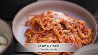 Chef Paolo's Spaghetti Arrabiata