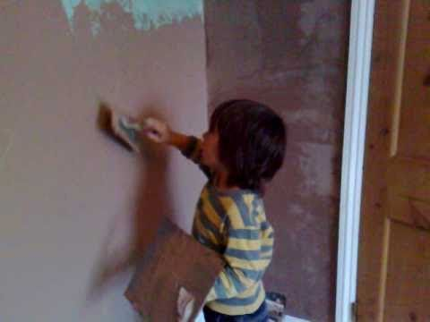 Learn How To Plaster Wall From Years Old Mp4