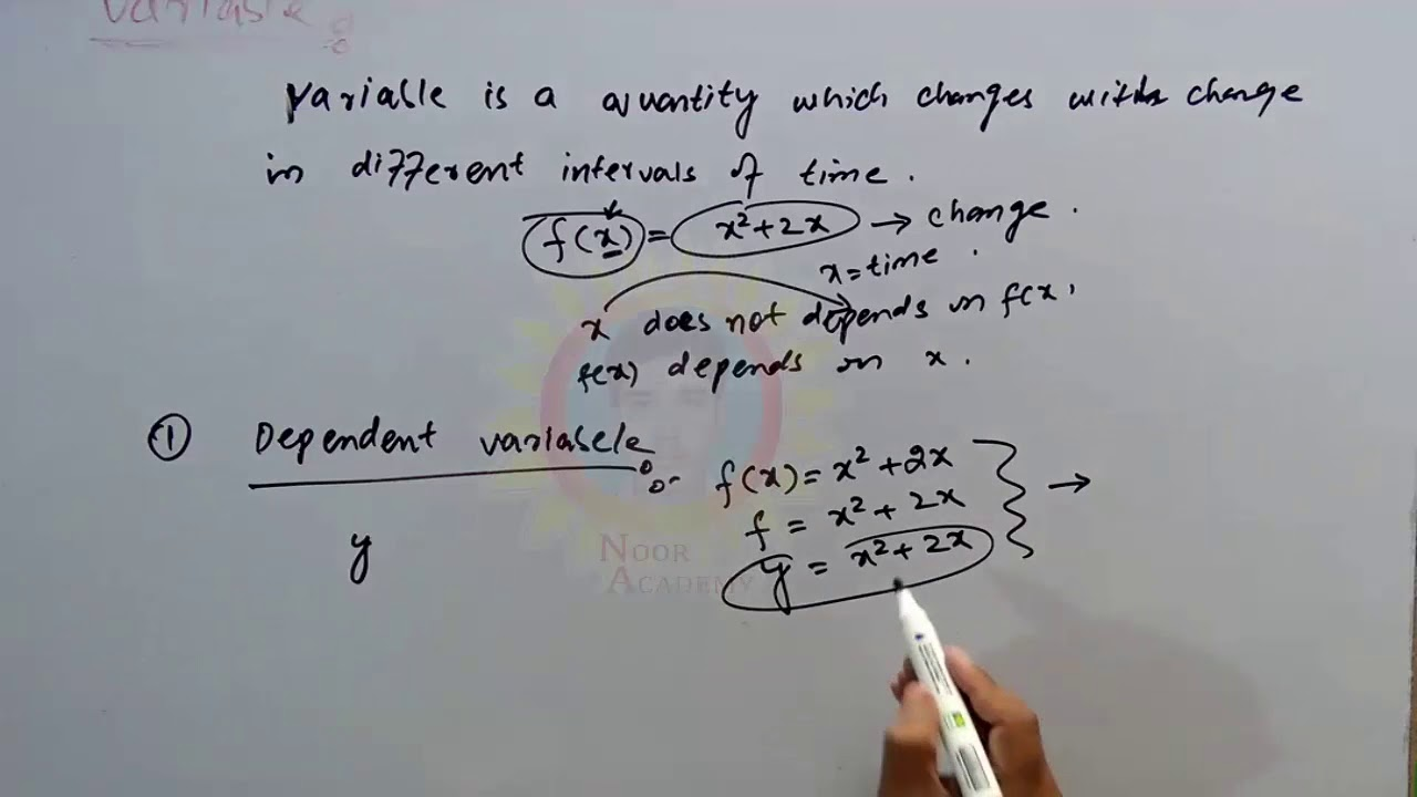 Definition Of Variable And Its Types With Example In Urdu By Noor Academy Youtube