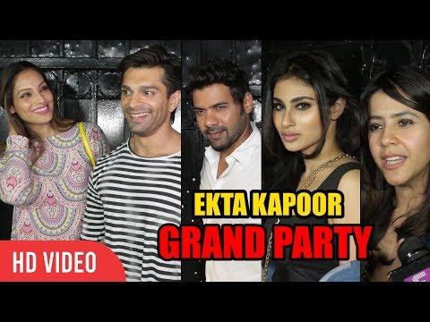 Ekta Kapoor Grand Night Party | Bipasha Basu, Karan Singh, Shabbir Ahluwalia, Mouni Roy | FULL VIDEO