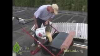 Гидроизоляция крыш с помощью системы SuperSpreader(УкрСад.ua -- в нашем магазине Вы сможете приобрести товары для прудов, а также заказать услуги по строительст..., 2014-03-04T18:16:40.000Z)