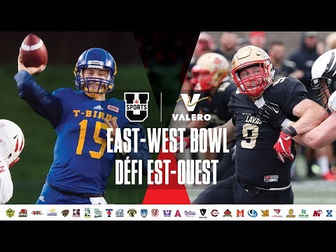 2018 U SPORTS Valero East-West Bowl