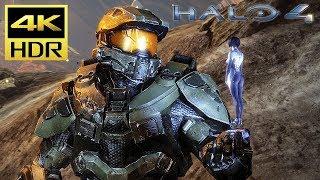 [4K HDR] HALO 4 - Xbox One X Gameplay (TMCC) @ 60ᶠᵖˢ UHD ✔