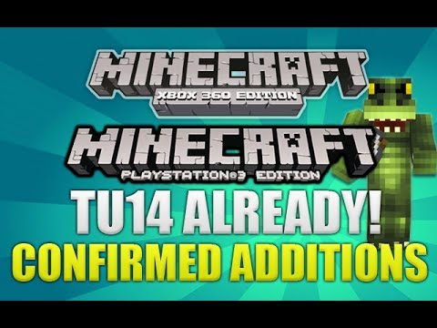 Minecraft Console: Title Update 14 Full List Of Current Confirmed Items/Features (TU14 ADDITIONS)