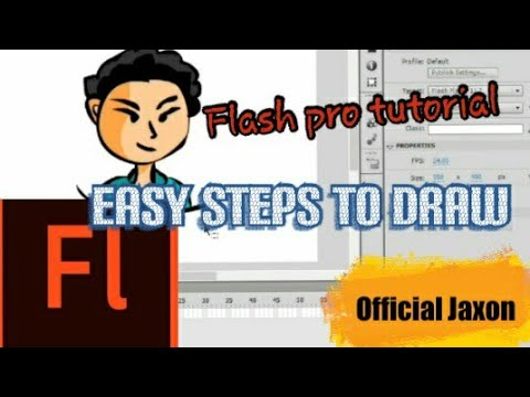 how to animate in flash pro cs6 tutorial for beginners تعلم الرسم للمبتدئين