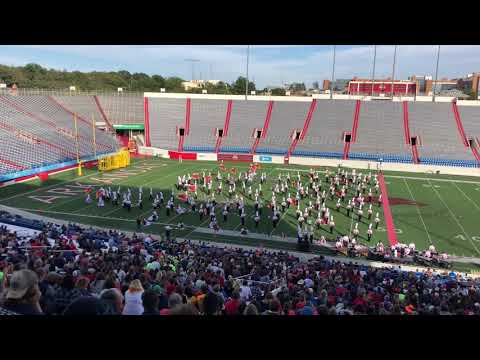 Cabot High School Marching Band 2018 Championship At The Rock Prelims Run