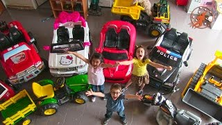 Power Wheels Kids Cars, Hello Kitty, Cops, Fire Trucks, Dump Truck, Kids Tractor, Nerf & Superheroes