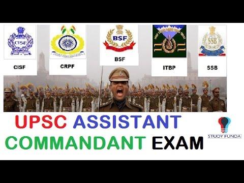 A.C/1-CAPF-Assistant Commandant Exam-2017