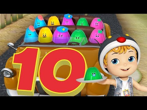 Ten In The Bed Nursery Rhymes Baby Songs With Jellies