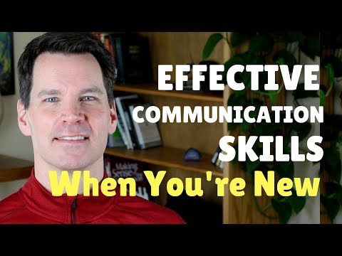 Effective Communication Skills When You're New To A Group Or Team