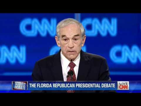 CNN/RPOF/HLN Republican Presidential Debate @ University of N. FL - Jacksonville - January 26, 2012