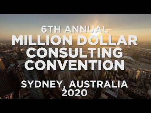 Million Dollar Consulting© Convention 2020 - Join Us In Australia!