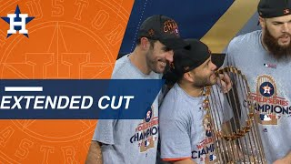 Watch an extended cut of the Astros winning their first World Series