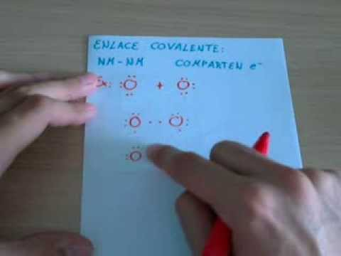Enlace covalente - YouTube