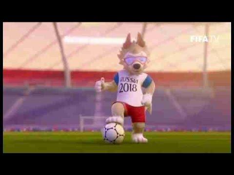 Lobo Zabivaka E Escolhido Como Mascote Da Copa Do Mundo De 2018