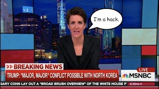 Rachel Maddow Scoffs at Trump Attempting Diplomacy with North Korea