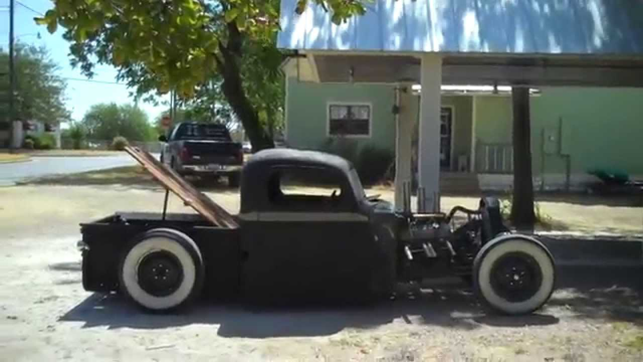 1946 Ford Rat Rod Truck Youtube