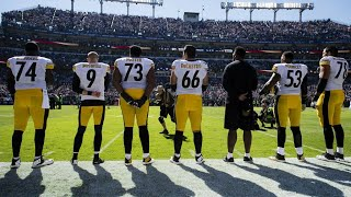 pittsburgh steelers vs baltimore ravens national anthem 10 1 17
