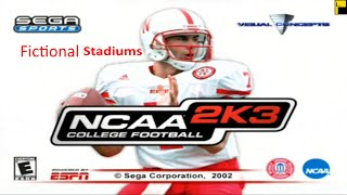 NCAA College Football 2K3 Conference Championship/Fictional Stadiums