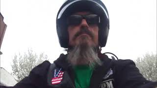 Ghoulie rides in Hamtramck MI
