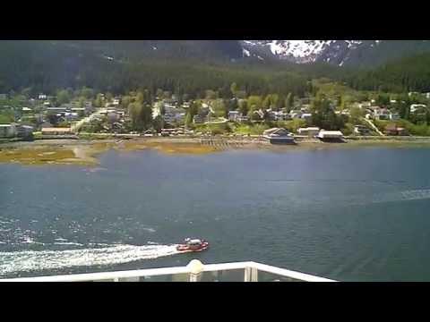 Arriving in Juneau Alaska on Norwegian Pearl