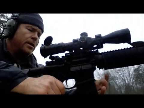 Primary Arms 4-14X44 FFP Scope in the Rain