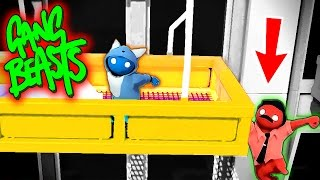 i tried to save him funniest fighting game ever gang beasts funny moments