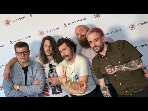 Interview with Idles @ The Live4ever Media Lounge