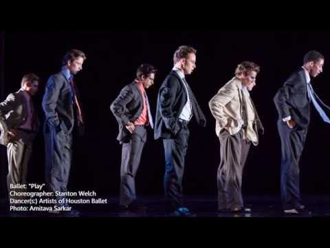 "Interview with Houston Ballet's Ian Casady - Stager of Stanton Welch's ""Play"" for OKC Ballet"