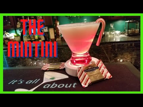 #ChristmasMartini2020/Mintini/It's all about the cocktail/festive alcoholic drinks for Christmas