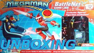 Megaman Battle Network BoardGame unboxing!