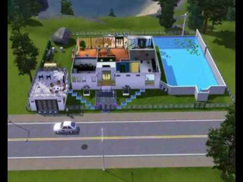 die sims 3 luxuuuuuus haus youtube. Black Bedroom Furniture Sets. Home Design Ideas