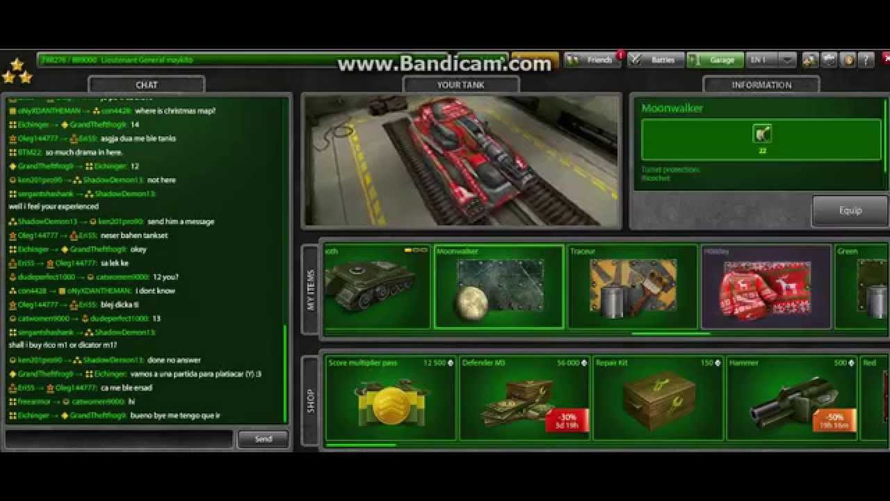 Tanki Online Christmas Sale 2014 - YouTube