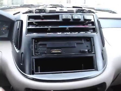 How To Remove Previa Cd Player Or Radio My Blog Http