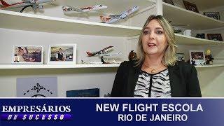 NEW FLIGHT ESCOLA, RIO DE JANEIRO, EMPRESÁRIOS DE SUCESSO