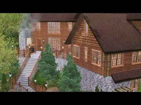 Logan Cabin And Caverns For The Sims 3 Youtube