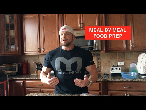 Meal By Meal Food Prep and Full Day of Eating
