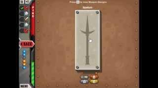 Jacksmith (Armor Games) #3 - Новый меч и копье.