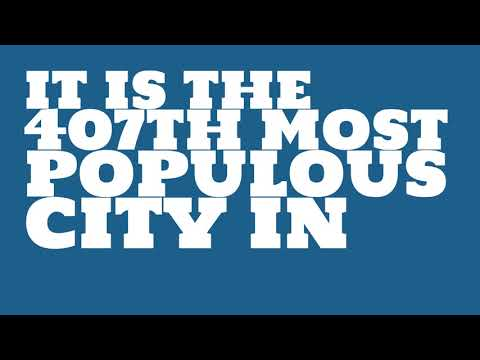 How does the population of Missouri City, TX compare to Manhattan?