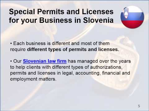 Legal Services in Slovenia