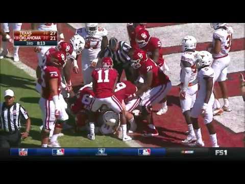 Oklahoma vs Texas | 2016 Big 12 Football Highlights