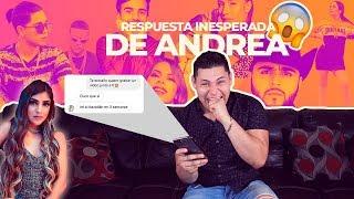 LE ESCRIBÍ A ANDREA ZUÑIGA / MENSAJES A FAMOSOS