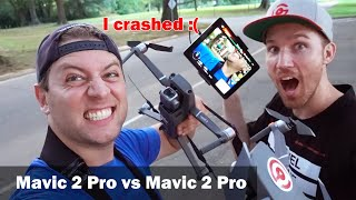 Comparing Flight Styles w/ Brett Garamella - I Crashed!!!