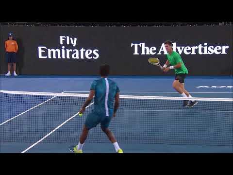 Match Highlights - Kokkinakis v Monfils Day One | World Tennis Challenge 2018