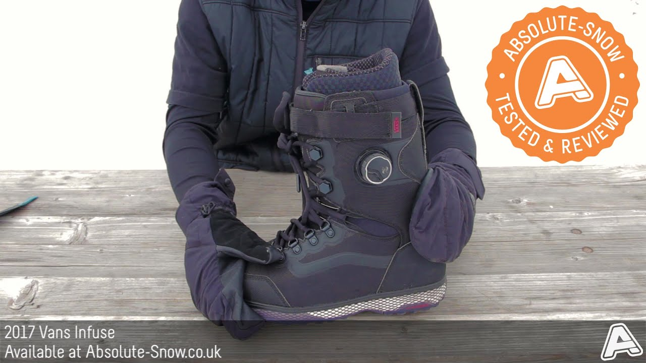 1d75a85222 2016 / 2017 | Vans Infuse Snowboard Boots | Video Review