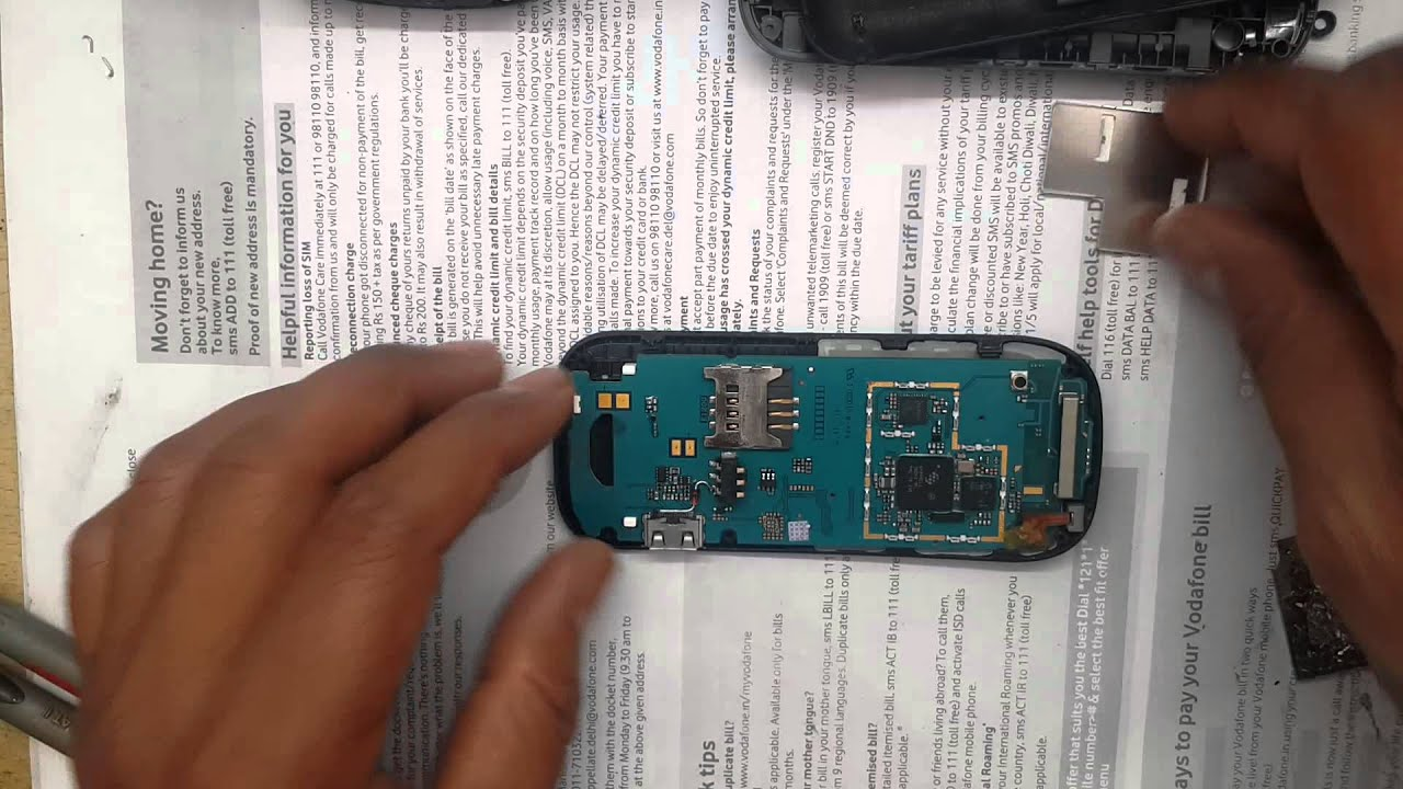 Samsung E1200T Dead solution | Samsung mobile E1200 Dead solution ...